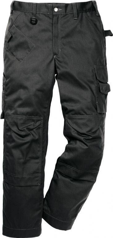 Fristads Icon One Cotton Trousers with Kneepad Pockets 2112 KC / 114119 (Black)
